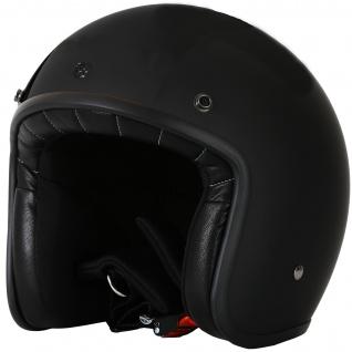 Marushin C-131 Motorrad Helm Jethelm Premium Line Halbschalenhelm - Vorschau 5