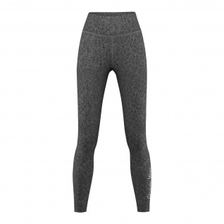 Leggings dehnbar Fitness Sport Yoga Gymnastik Training Tanzen Freizeit Grau melange