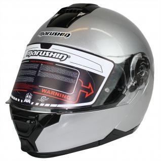 Marushin M-310 Motorrad Helm Klapphelm Sonnenblende sportliche Tourenfahrer - Vorschau 4