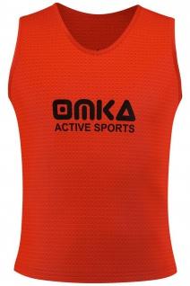 OMKA, Fußball Leibchen Trainingsleibchen Markierungshemd Fußballleibchen Trikots