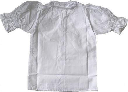 Kinder Dirndlbluse dirndl bluse Trachtenbluse Weiß - Vorschau 2