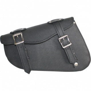 Motorrad Satteltasche Solobag Solo Tasche saddlebag Motorradtasche Werkzeugtasche aus Leder - Vorschau 1