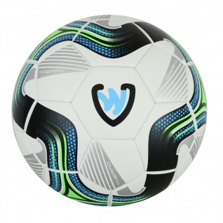 OMKA 10x Bälle Striker Turnierball inkl. Fußballsack Reisetasche mit Schultergurt - Vorschau 2