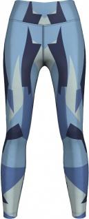 Marine Camo Leggings sehr dehnbar für Sport, Yoga, Gymnastik, Training, Tanzen & Freizeit blau