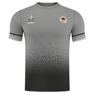 OMKA Fussballtrikot WM 2018 Fan Trikot Fußball-Weltmeisterschaft Deutschland