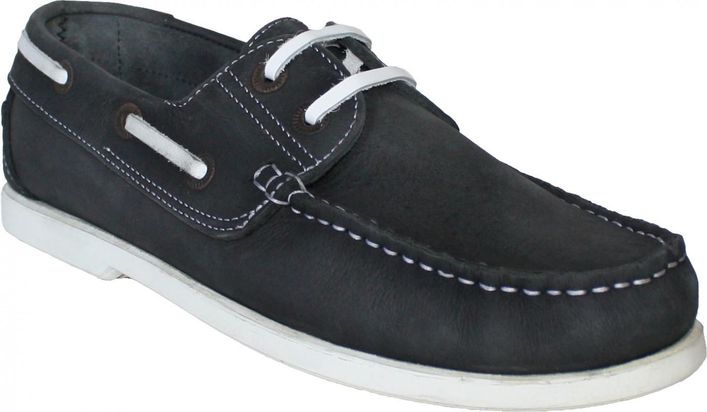 Stiefelschuhe Halbschuhe aus Nubukleder Segelschuhe Schuhe schwarz weiß