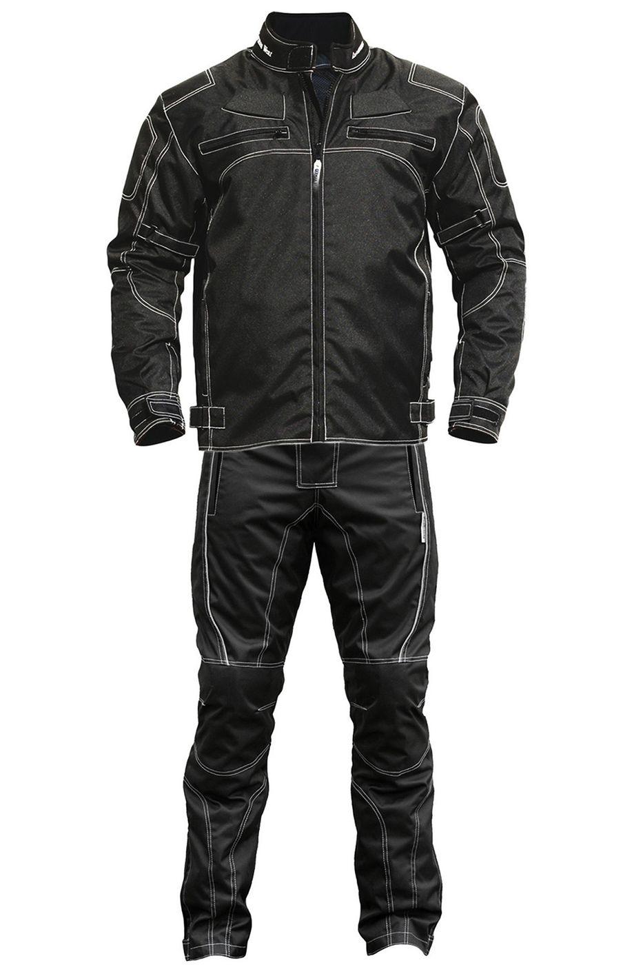 Gr/ö/ße:60//4XL BULLDT 2-teiler Motorradkombi Cordura Textilien Motorradjacke Motorradhose