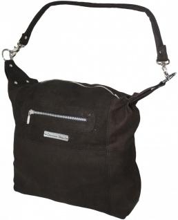 German Wear, Lederhandtasche Ledertasche Shopper Handtasche Tragetasche Beuteltasche