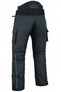 BULLDT Motorradhose Cargo Textilhose Cargohose Schwarz - Vorschau 4