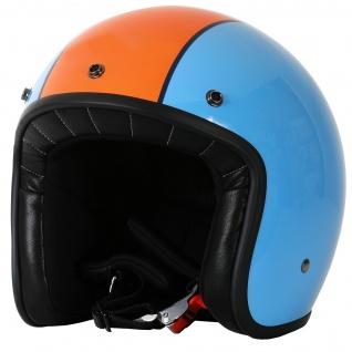Marushin C-131 Motorrad Helm Jethelm Premium Line Halbschalenhelm - Vorschau 3