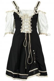 1-teiliges Midi-Dirndl Landhaus Kleid Dirndel