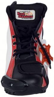 German Wear, Biker Motorradstiefel Motorrad Racing Touring Stiefel stiefletten Rot/ Gelb 17cm - Vorschau 5