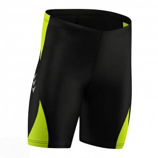 Radhose Fahrradhose Radlerhose Gepolsterte Coolmax Radler-Shorts - Vorschau 5