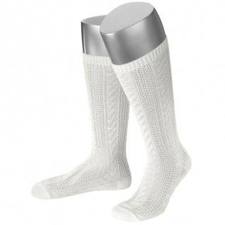 Damen Trachtensocken Trachtenstrümpfe Zopf Socken