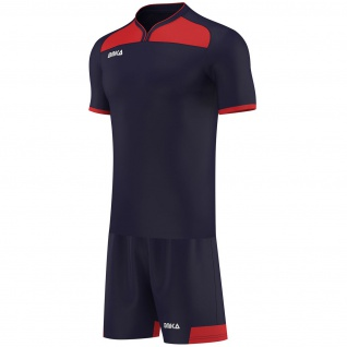 OMKA Herren Team Trikotset 2-teilig fußball set Fitness Team (Jersey + Shorts) - Vorschau 3