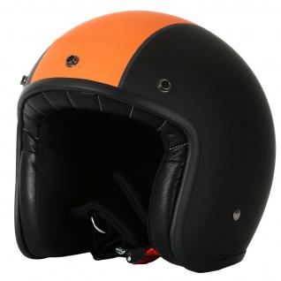 Marushin C-131 Motorrad Helm Jethelm Premium Line Halbschalenhelm - Vorschau 4