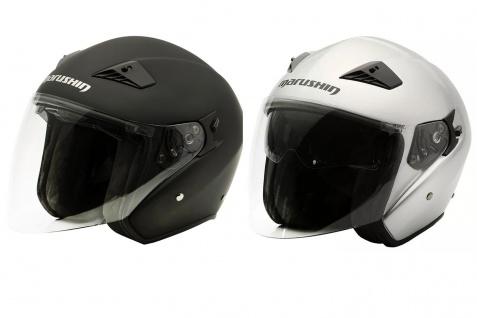 Marushin M-610 Motorrad Helm Jethelm Sonnenblende sportliche Tourenfahrer