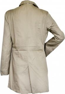 German Wear, Damen mantel Trenchcoat aus Baumwolle Beige - Vorschau 2