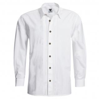 Trachtenhemd Businesshemd 2x5 Biesen Hemd Langarm Baumwolle