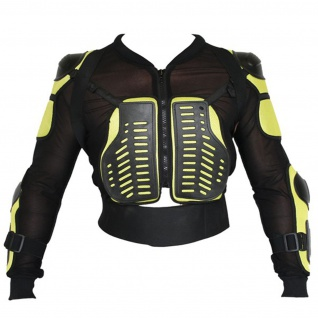 Protektorenjacke Motorrad Motocross Skatebording Protektoren Armour KörperPanzer - Vorschau 3