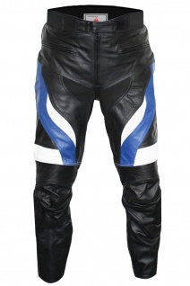 Motorradhose Motorrad Biker Racing Lederhose