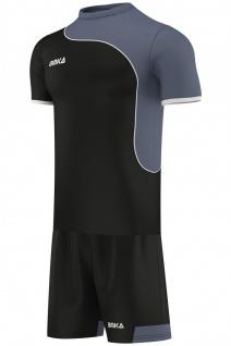 OMKA, Herren Team Trikotset 2-teilig fußball set Fitness Team (Jersey + Shorts)