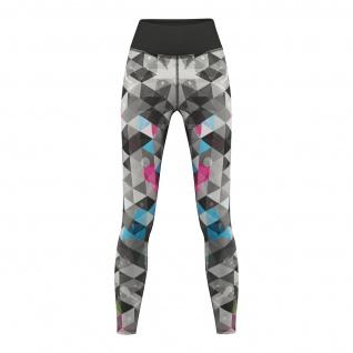 Neo Grunge Leggings sehr dehnbar Fitness Sport Yoga Gymnastik Training Tanzen Freizeit