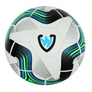 GermanWear Striker Fußball Größe 5 PU 1, 0 mm Thermo Bonded Match Ball Turnierball - Vorschau 5