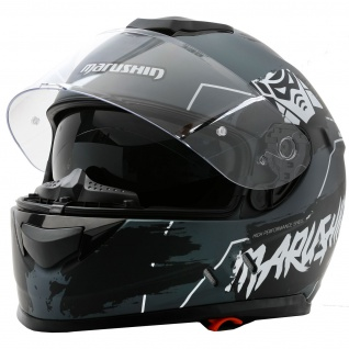 Marushin 889 Comfort Warrior Motorrad Helm Integralhelm sportliche Tourenfahre - Vorschau 3