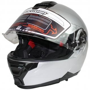 Marushin M-310 Motorrad Helm Klapphelm Sonnenblende sportliche Tourenfahrer - Vorschau 3