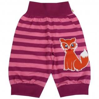 Pumphose Schlupfhose Babyhose elastischer Bund Handmade Fuchs