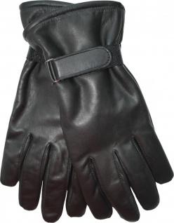 Damen Lammnappa Lederhandschuhe Handschuhe echtleder Lamm-Nappaleder schwarz
