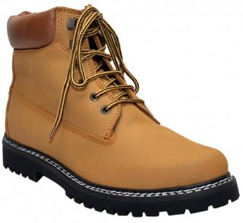 German Wear, Stiefeletten Desert boots Schuhe Lederschuhe mittelbraun