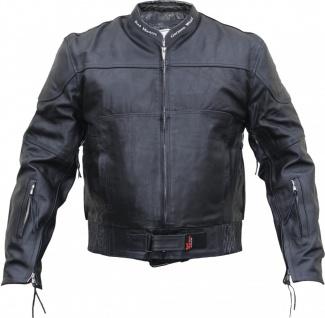 German Wear, Cruiser Lederjacke Motorradjacke biker Jacke