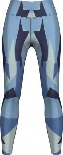 Marine Camo Leggings sehr dehnbar für Sport, Gymnastik, Training, Tanzen & Freizeit blau