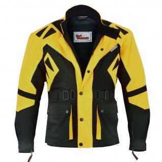 2-teiler Motorradkombi Cordura Textilien Motorradjacke + Motorradhose - Vorschau 4