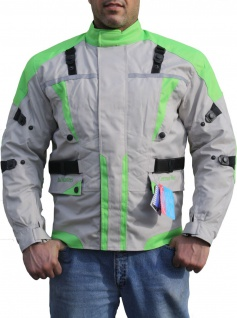 German Wear, Textil Textilien Jacke Motorradjacke Kombigeeignet Grün