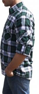 Jagdhemd jäger hemd für jagd GRÜN/karo - Vorschau 3