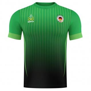 OMKA Fussballtrikot WM 2018 Fan Trikot Fußball-Weltmeisterschaft Deutschland - Grün