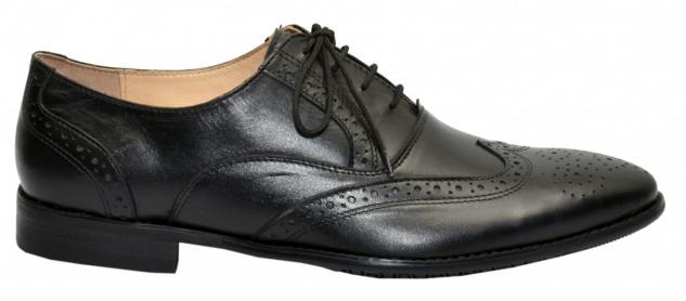 Business-schuhe Oxford Brogues Lederschuhe Schuhe Schwarz - Vorschau 4
