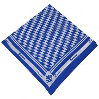 Halstuch Trachtentuch bayrisches Bandana Muster