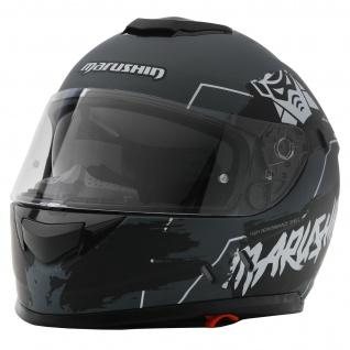 Marushin 889 Comfort Warrior Motorrad Helm Integralhelm sportliche Tourenfahre - Vorschau 2