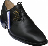 Oxford Business-schuhe Halbschuhe Lederschuhe Ledersohle Schuhe schwarz