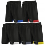 OMKA Herren Sporthose Teamwear Fußball Fitness Gym Shorts kurze Hose