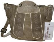 Damen Trachtentasche Dirndl Taschen Trachten ledertasche Beige