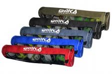 OMKA Fußball Rugby Handball Ballsack Reisetasche Carry Bag mit Schultergurt für 5 Bälle
