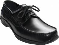 Mokassin aus leder Halbschuhe Schuhe Lederschuhe Glattleder schwarz