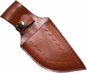 Messerscheide für Jagdnicker Messer & Trachtenmesser echtleder braun