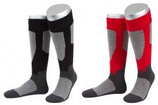 Wintersport Skisocken Vollplüsch Socken aus Baumwolle, Schurwolle