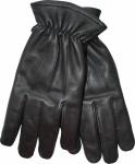 Herren Lammnappa Lederhandschuhe Handschuhe echtleder Lamm-Nappaleder schwarz
